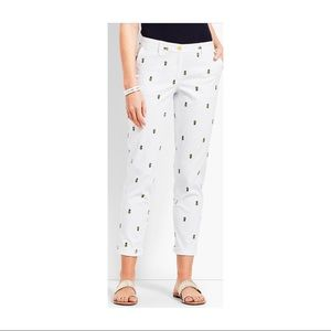 Talbots Girlfriend Relaxed cropped chinos, 8P